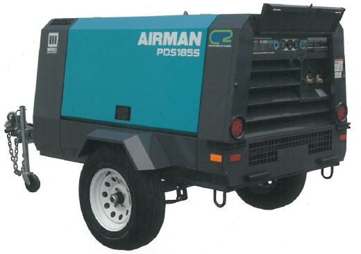 airman diesel portable compressor